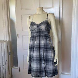 Converse plaid sleeveless summer dress